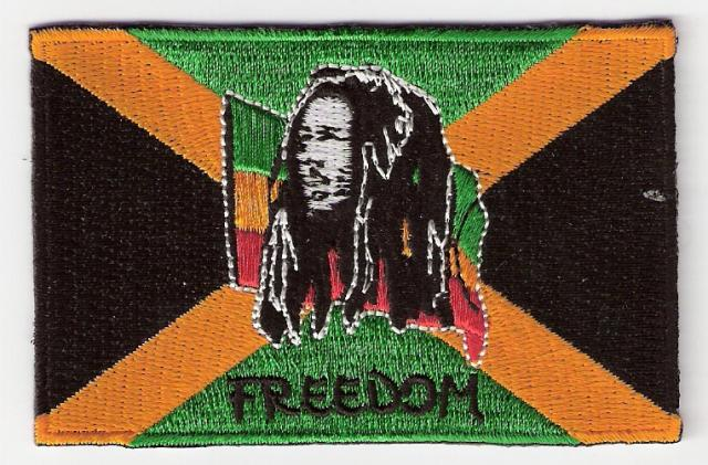 Freedom RGG Jamaican Flag Patch