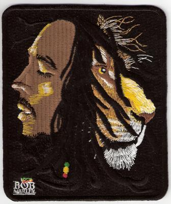 Bob Marley Lion Patch