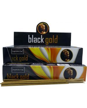 Nandita Black Gold Incense Sticks
