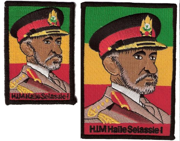 HIM Haile Selassie I Uniform Patch