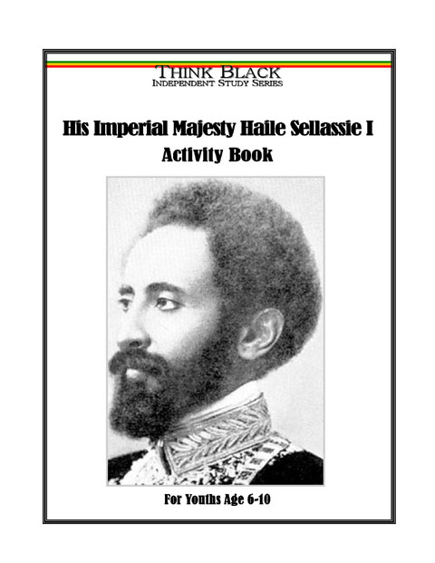 HIM Haile Sellassie First Activity Book