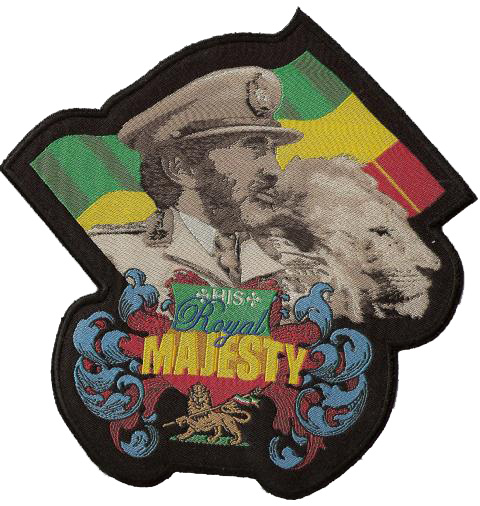 His Royal Majesty Patch - Jumbo