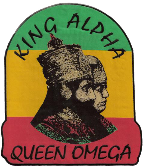 King Alpha & Queen Omega Patch - Jumbo