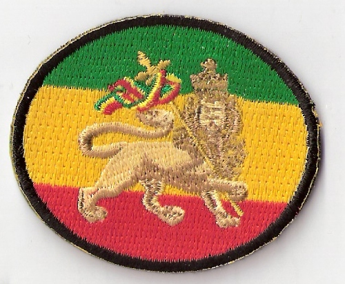 Lion of Judah oval Patch