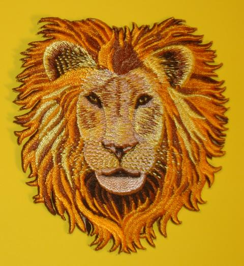 Lion Face Patch