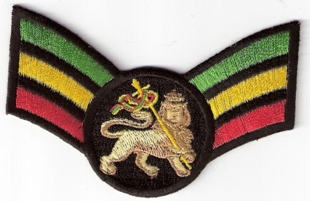 The Lion of Judah Wing patch