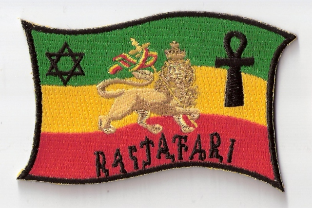 Lion of Judah Ankh and Star of David Patch