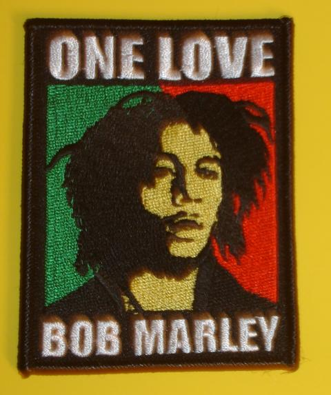 One Love Bob Marley Patch