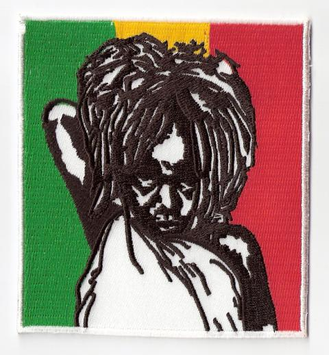 Rasta Baby Girl Patch