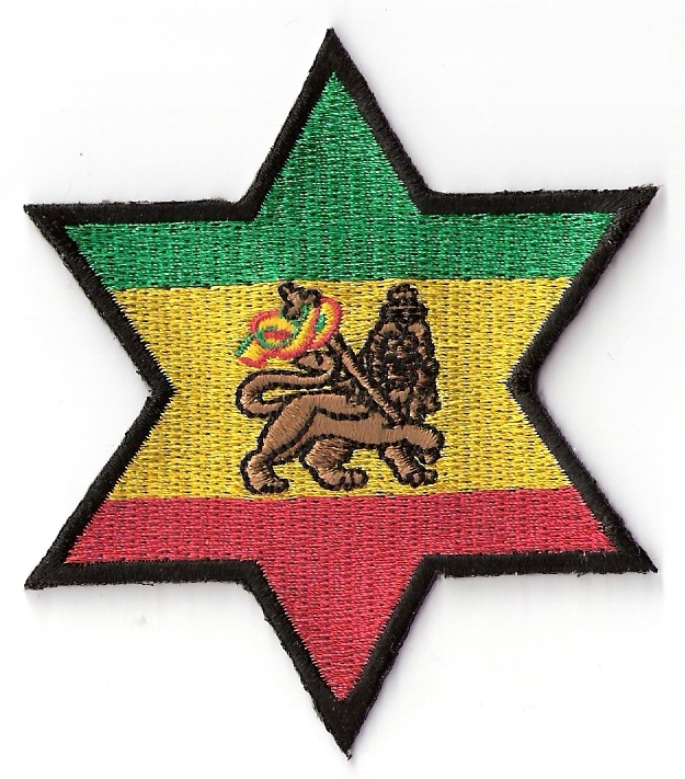 Star of David Lion Of Judah Patch