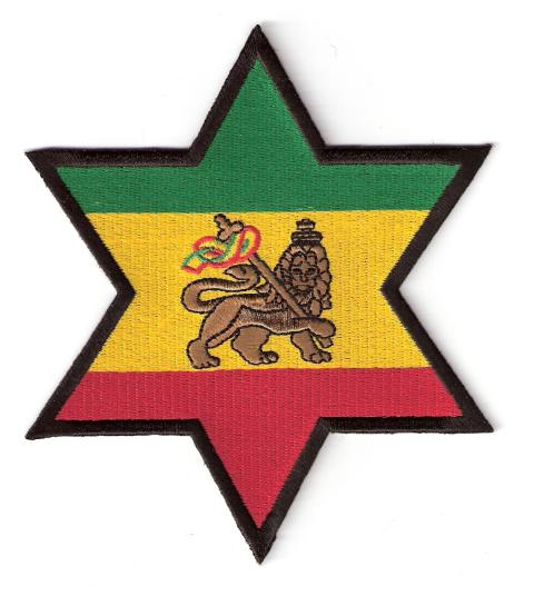 Star Lion of Judah Jumbo Patch