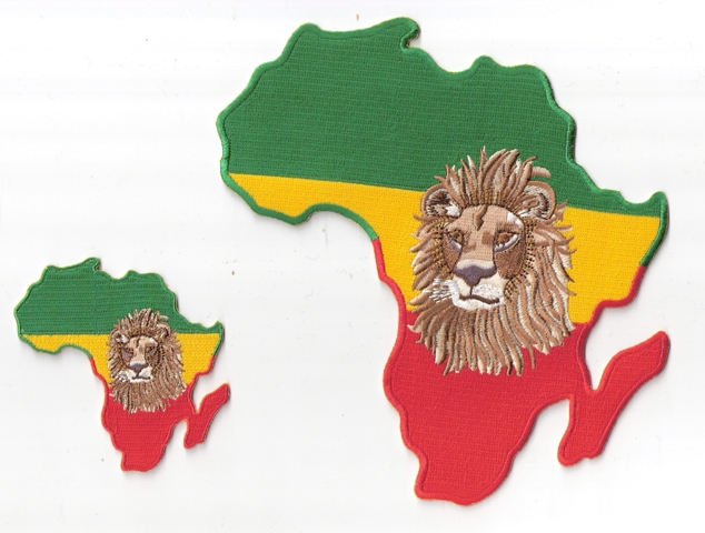 Africa True Lion Patch