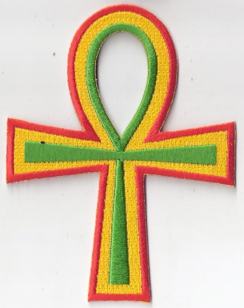 Ankh - Rasta Patch