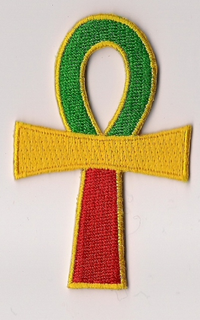 Ankh Rasta Vertical patch