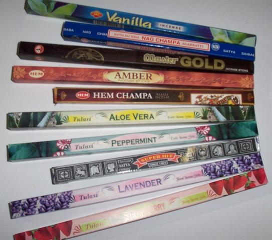 Buy 10 Assorted Incense, Get Two Boxes Free