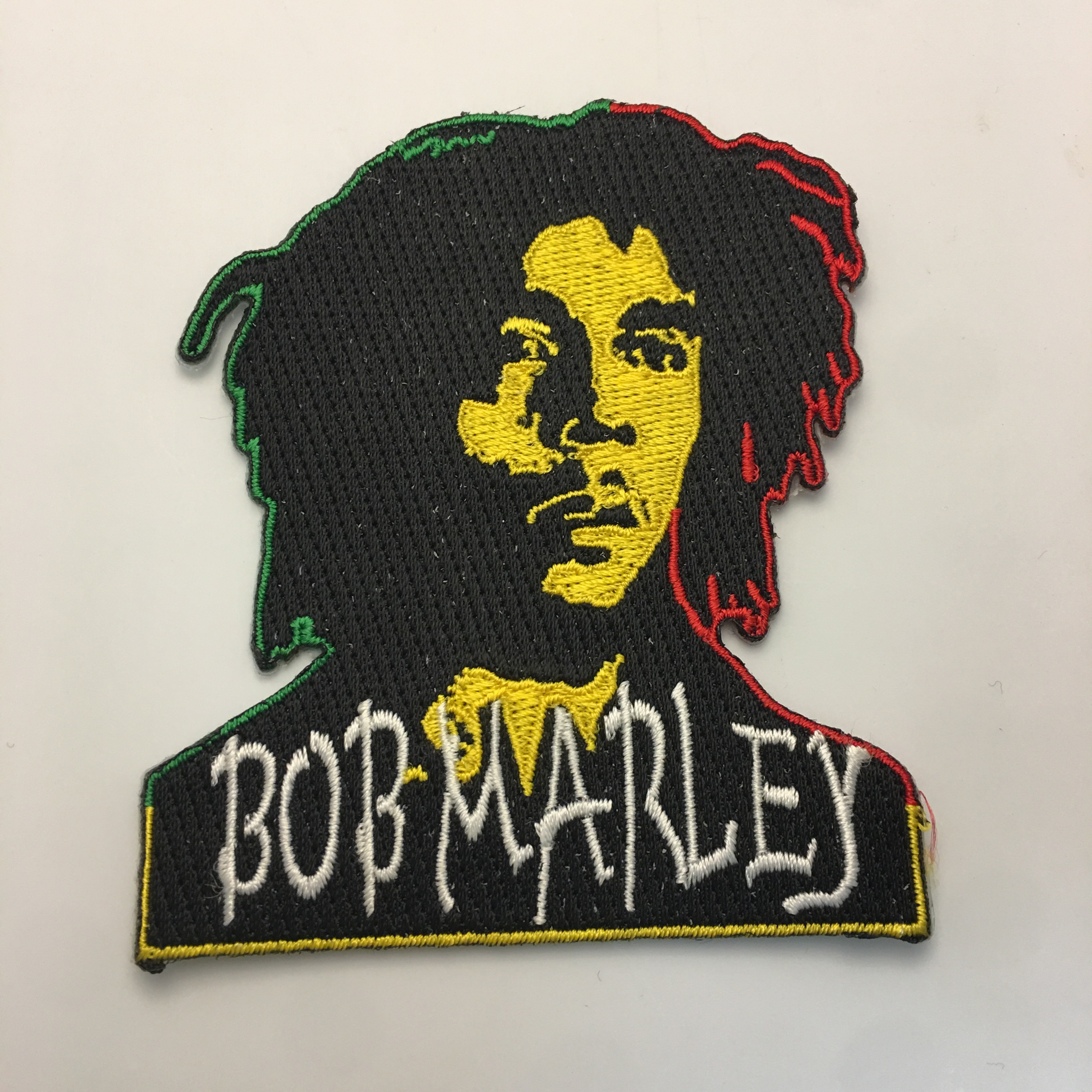 Bob Marley RGG Glow Patch