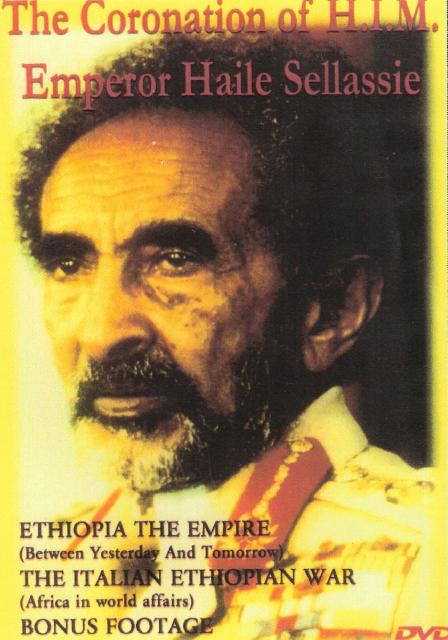 THE CORONATION OF HIM EMPEROR HAILE SELLASSIE DVD