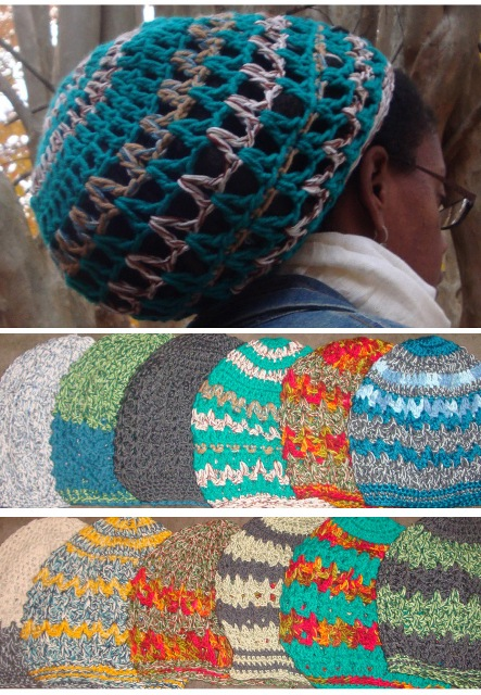 Crocheted Tams