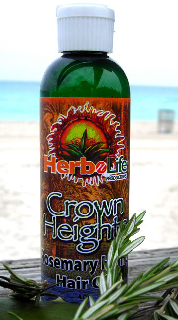 Herb N Life Crown Heights Rosemary Hemp Hair Oil