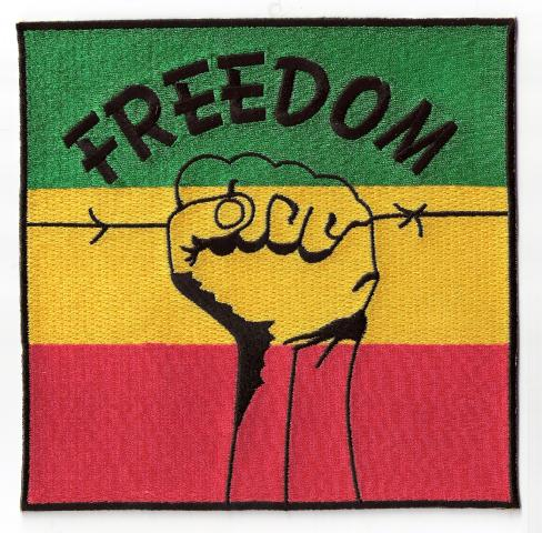 Freedom Fist Jumbo Patch