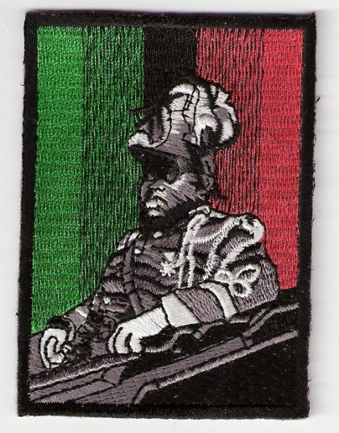 Marcus Garvey RBG Flag Patch