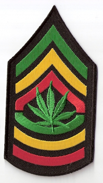 Herb Leaf Honor Patch