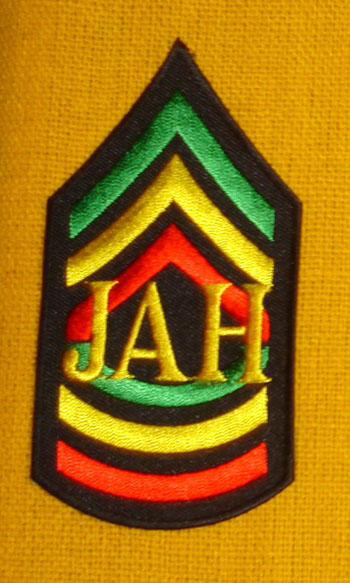 RGG Jah Honor Patch