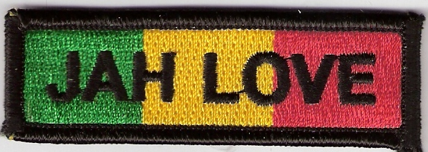 Jah Love Bar Patch
