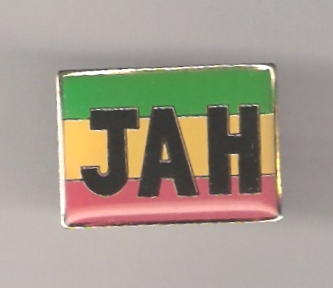JAH metal pin - gold