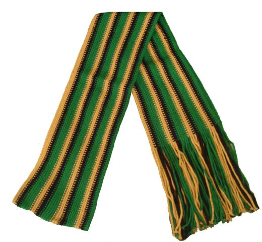 Jamiacan Scarf (striped)
