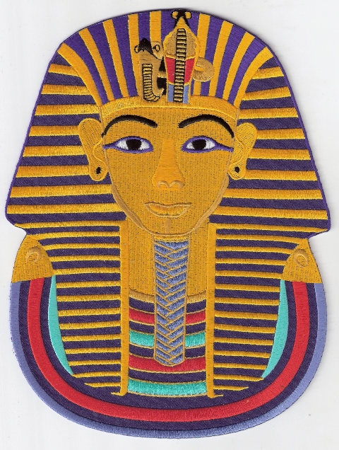 King Tutankhamen Jumbo Patch
