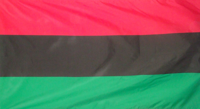 Liberation - Red, Black and Green Flag