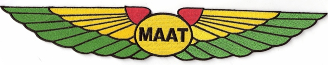 Maat Wing Jumbo Patch - Rasta