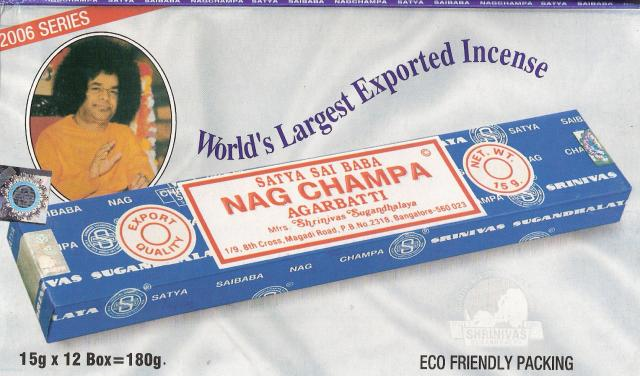 Nag Champa Incense Box