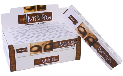Nandita Mantra Meditation Incense Sticks