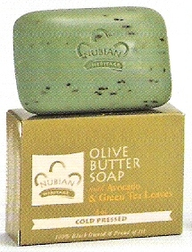Nubian Heritage Olive Butter Soap - 5 oz bar