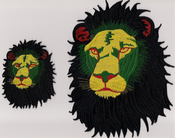 Rasta Lion Face - Black