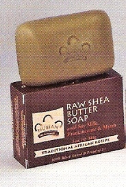 Nubian Heritage Raw Shea Butter Soap - 5 oz bar