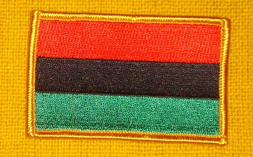 RBG Flag Patch (black border only)