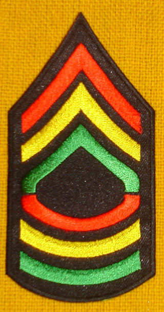 Red Gold Green Honor Patch