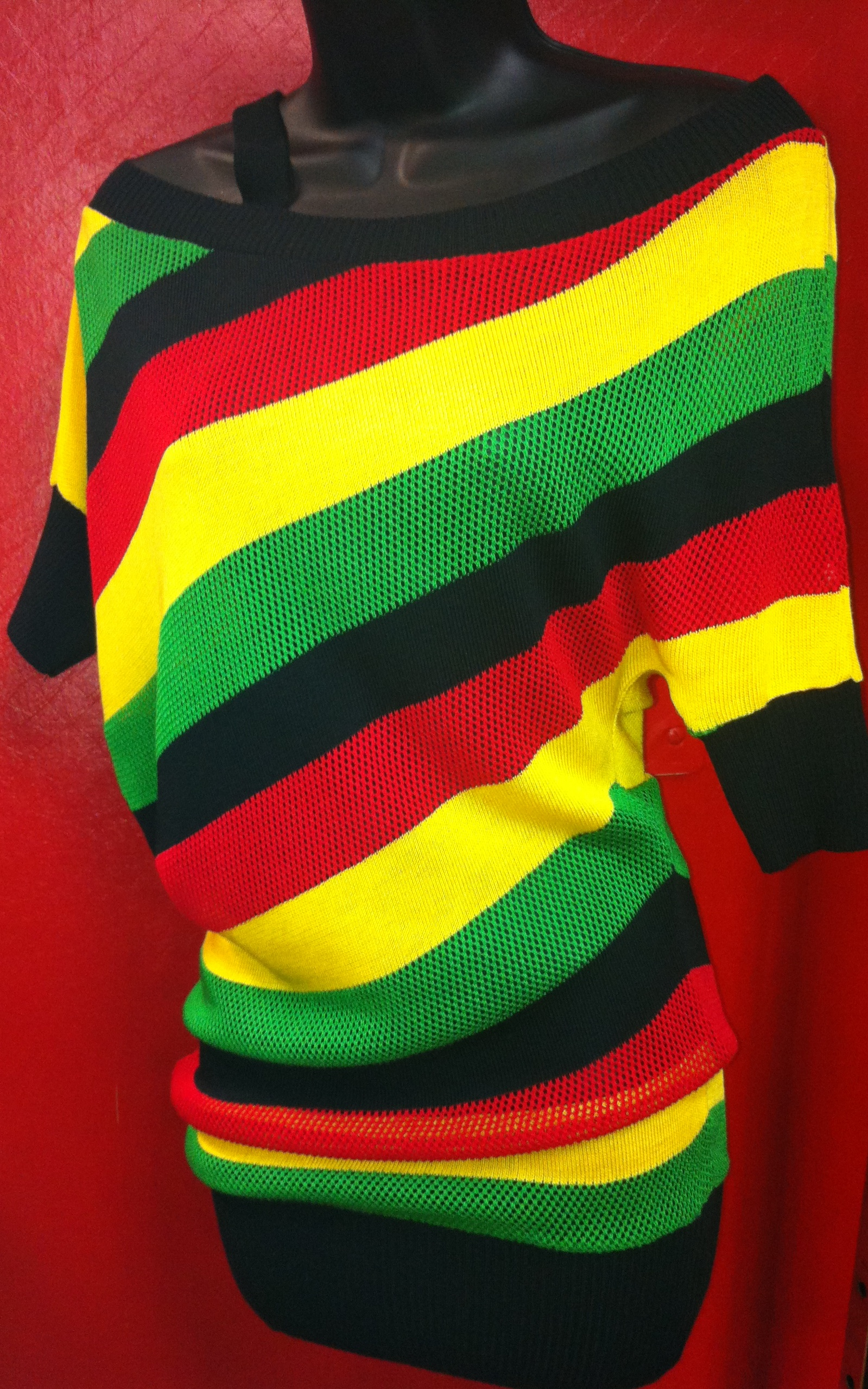 Rasta Mesh Top/Dress (Small only)