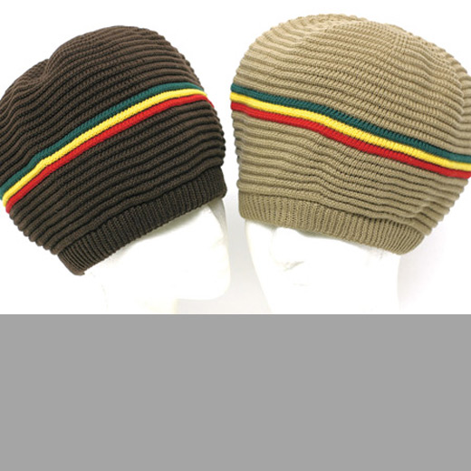 Rasta Hat Full Ribbed Tam