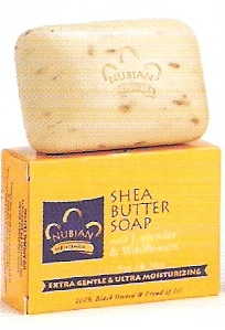 Nubian Heritage Shea Butter Soap - 5 oz bar