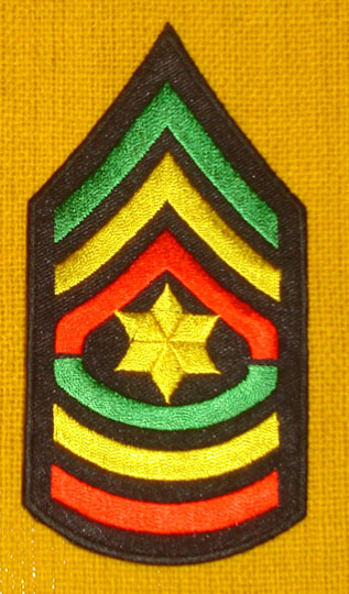 RGG Star of David Honor Patch