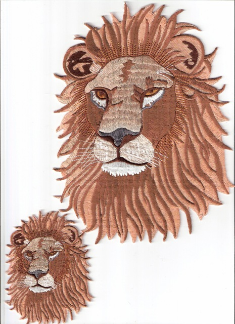 True Lion Patch