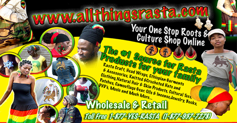Your One Stop Roots & Culture Shop Online